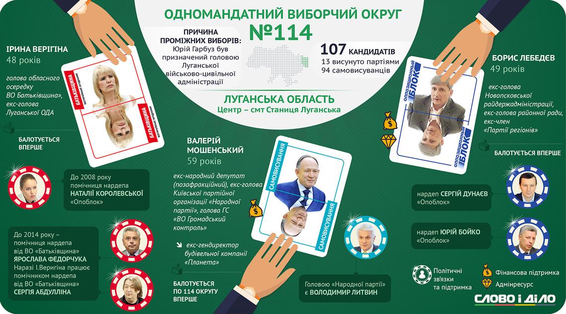 Підсумки голосування по ВО №114 (тільки Новопсковський район)