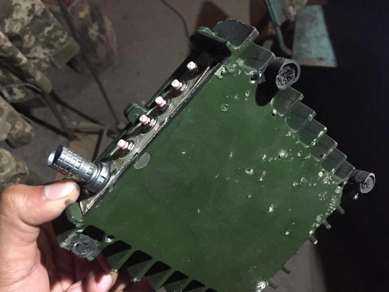 Члени незаконних збройних формувань знову збили БПЛА місії ОБСЄ, що літав поруч із лінією розмежування.