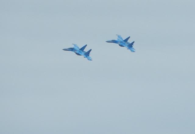 Пілоти Повітряних сил Збройних сил України взяли участь у дводенному міжнародному авіаційному показы SIAF-2016.
