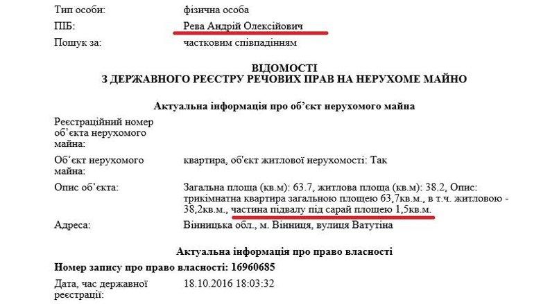Министр, прославившийся фразой о том, что украинцы много едят, судя по декларации, практически аскет.