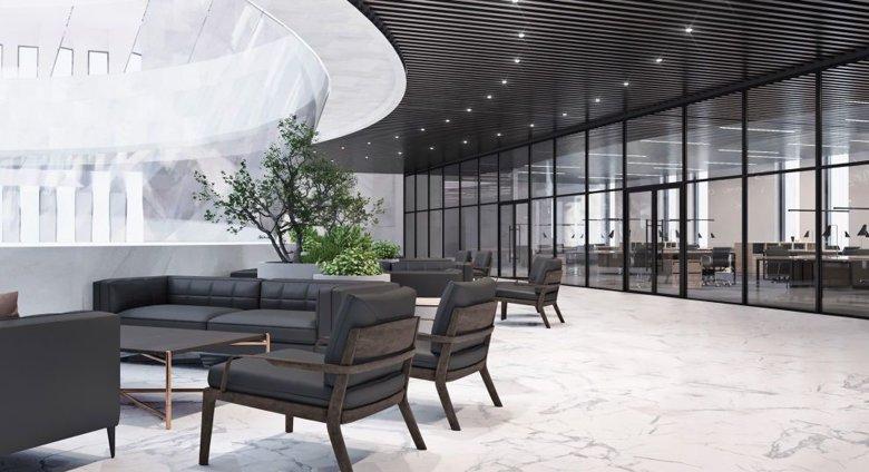 Как будет выглядеть офис главы государства Зеленского, который переезжает с Банковой на Европейскую площадь, показали на фото.