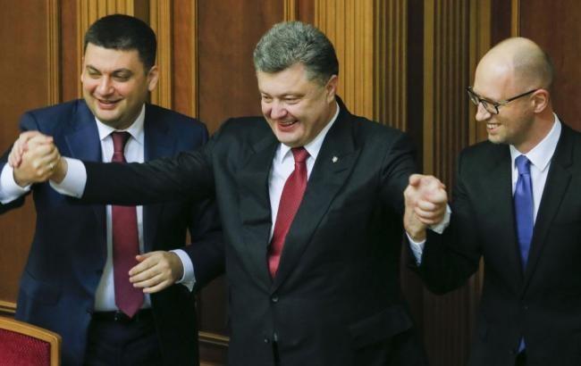 Єдина несприятлива обставина для успішного втілення реформ – війна на Донбасі, однак навіть у період «затишшя» на Донбасі нова влада не демонструє прискорення до втілення довгоочікуваних змін у країні.