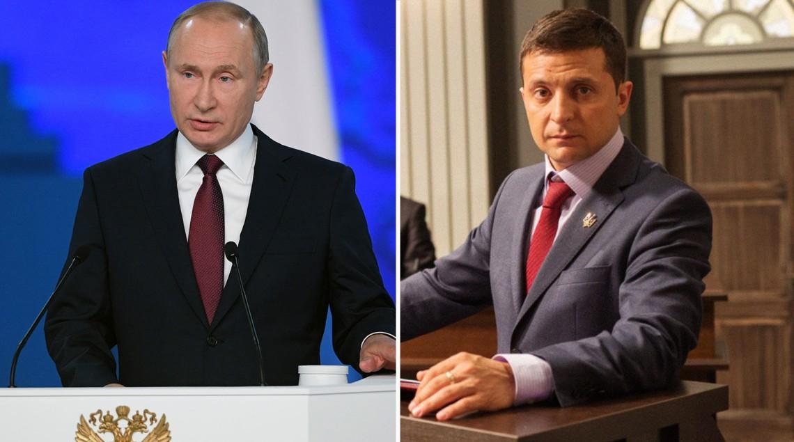 Президент Росії Володимир Путін провів першу телефонну розмову з президентом України Володимиром Зеленським.