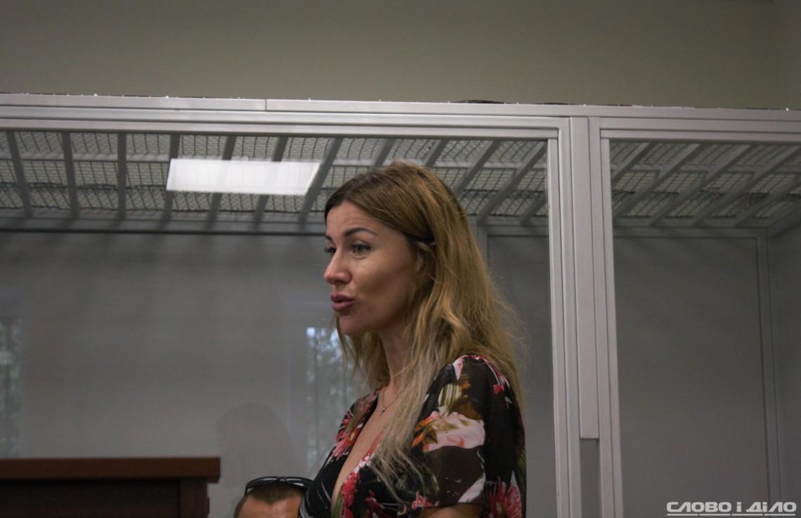 """Результат пошуку зображень за запитом """"Суд повернув закордонні паспорти та зняв електронний браслет з оцінювачки Аліси Гринчук, яку Національне антикорупційне бюро та Спеціалізована антикорупційна прокуратура підозрюють у причетності до заволодіння майже 82 мільйонами гривень при обміні квартир для нацгвардійців."""""""