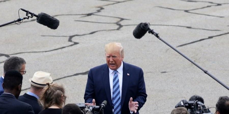 Президент США Дональд Трамп заявив, що, за даними американської розвідки, уряд Китаю стягує війська до кордону з Гонконгом.