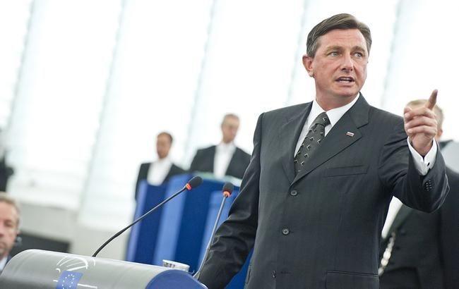 Президент Словении предлагает предоставить Украине «особый статус» вЕС