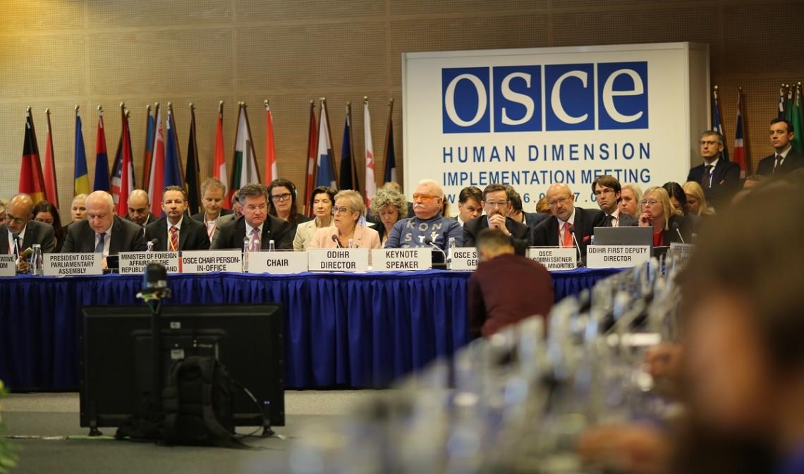 Зал засідань ОБСЄ у Варшаві залишила українська делегація на знак протесту  заявам про російський Крим » Слово і Діло