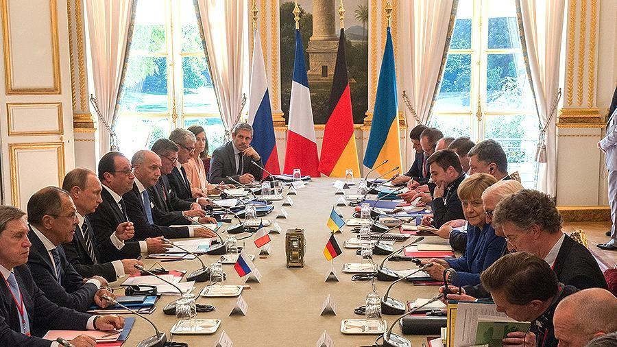 Вподготовке «нормандского» саммита наметилась позитивная динамика— Кремль