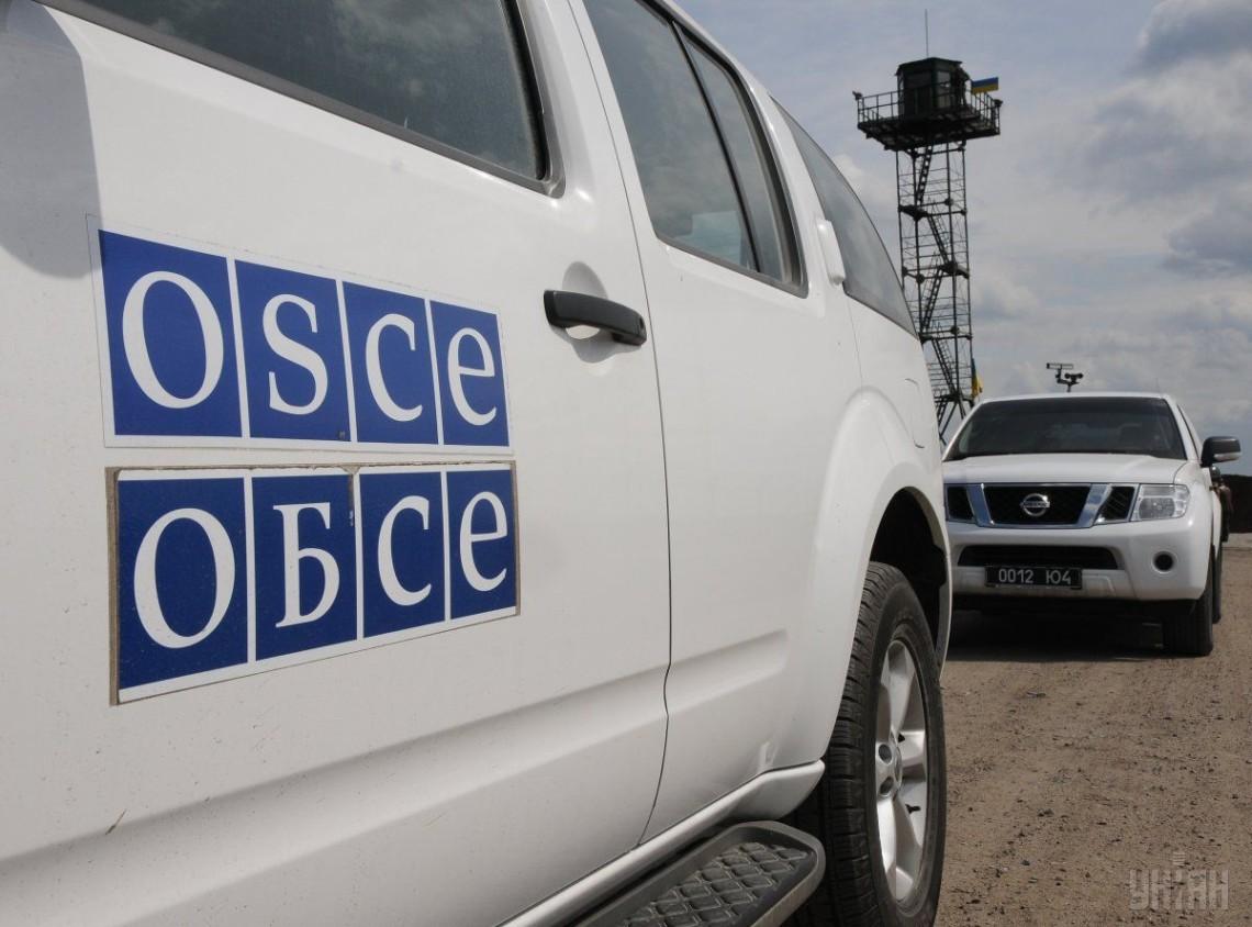 ОБСЄ зафіксувала 140 вибухів на Донбасі