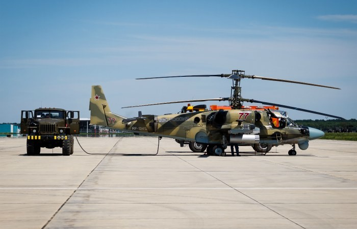 У Росії під час планового навчально-тренувального польоту розбився вертоліт Мі-28. На борту судна перебували командир і другий пілот.