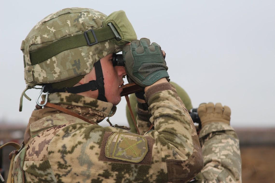 23 лютого збройні формування Російської Федерації 14 разів порушили режим припинення вогню. За поточну добу втрат немає.