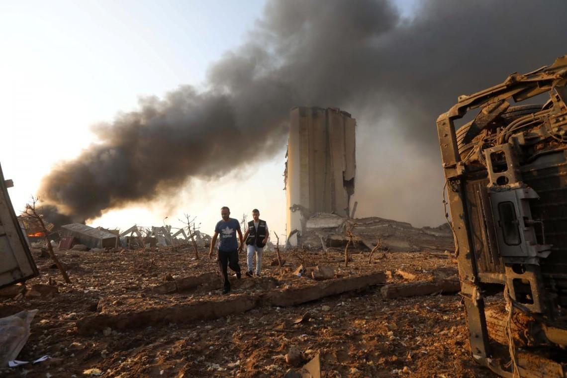 В результаті вибуху в порту ліванського Бейрута, згідно з останніми даними, загинули 113 осіб.