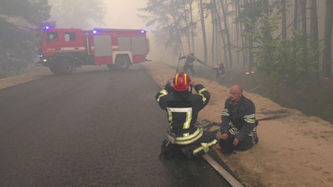 У Донецькій і Луганській областях різко зросла кількість пожеж в лісах, степах і на сільськогосподарських угіддях.
