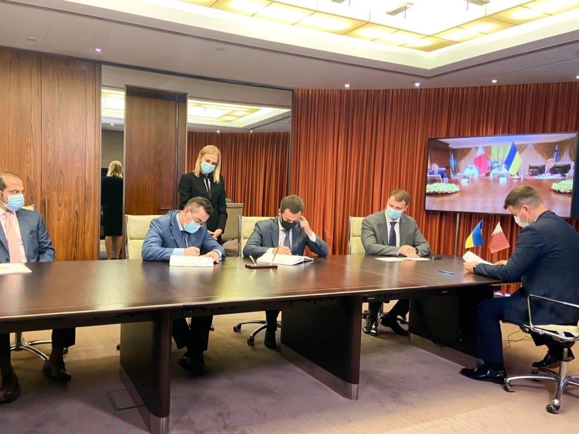 Украина и Катар подписали договор о передаче в концессию николаевского специализированного морского порта Ольвия.