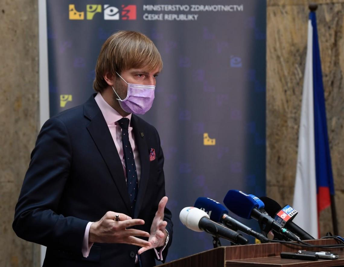 Міністр охорони здоров'я Чехії Адам Войтех подав у відставку на тлі зростання захворюваності коронавірусом в країні.