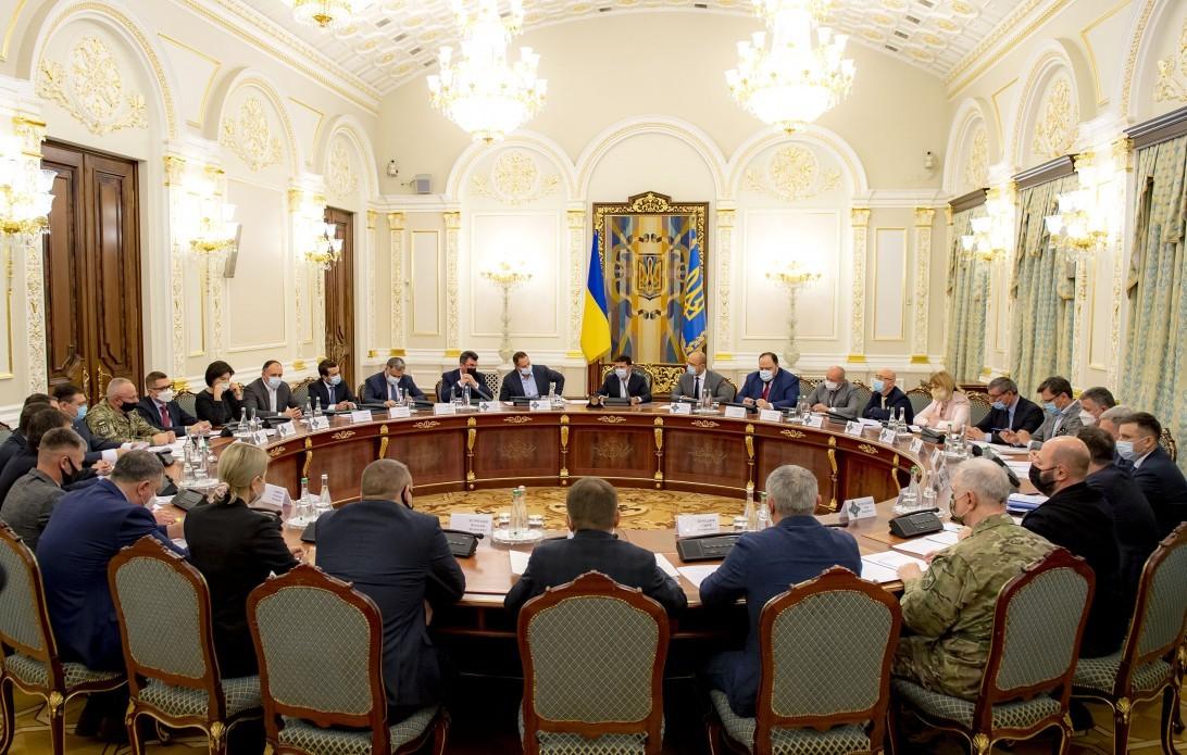 Глава держави Володимир Зеленський сьогодні провів екстрене засідання РНБО, під час якого було схвалено низку важливих рішень.