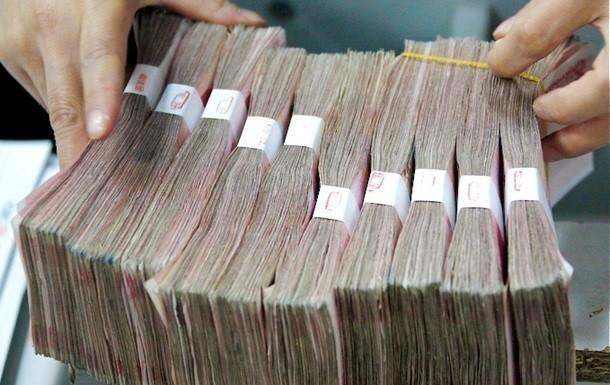 За девять месяцев нынешнего года госдолг Украины увеличился на 347 миллиардов гривен (17%) - до 2,3 триллиона.