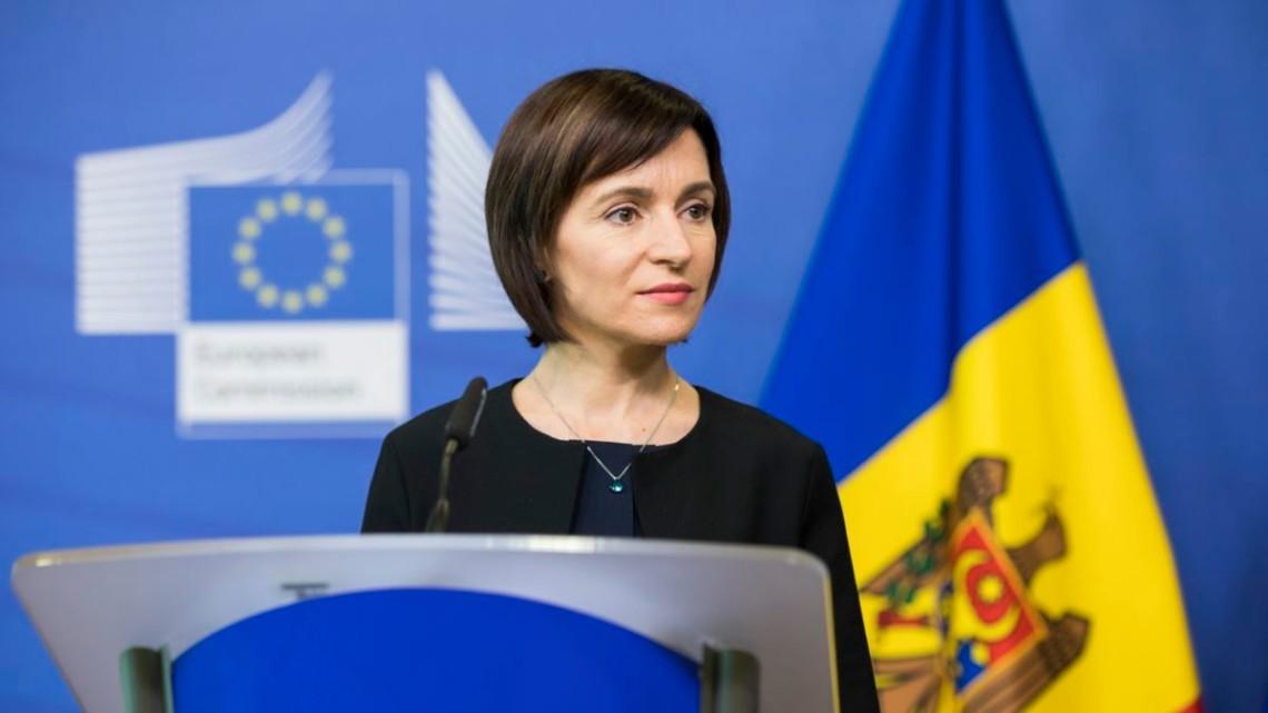 Президентка Молдови оголосила дату розпуску парламенту
