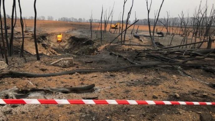НаПолтавщине взорвался магистральный газопровод— Вероятная диверсия