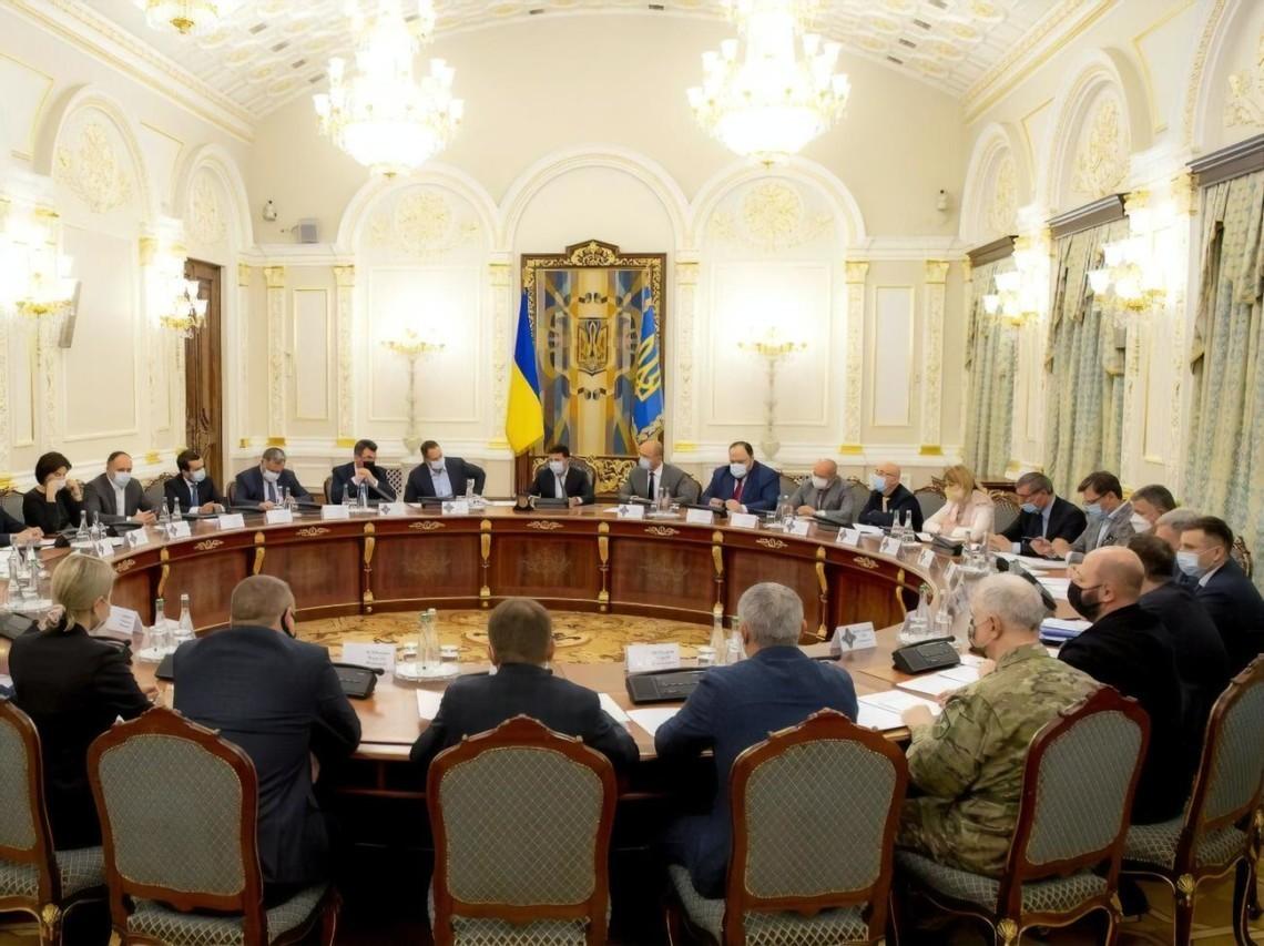 Засідання РНБО 15 квітня - на порядку денному Донбас і нові санкції » Слово  і Діло