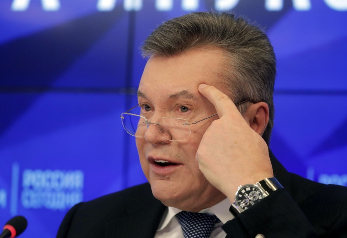 Йдеться про злочинну організацію, яка діяла за часів президентства Януковича, «коли найближче оточення Януковича, яке родом з Донбасу, обкрадало, перш за все, той же Донбас».