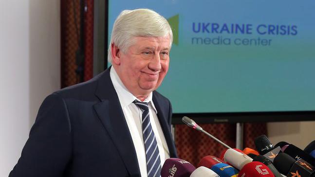 Генеральний прокурор України Віктор Шокін заявив про спецоперацію за участю силових відомств щодо чиновників Міністерства освіти.