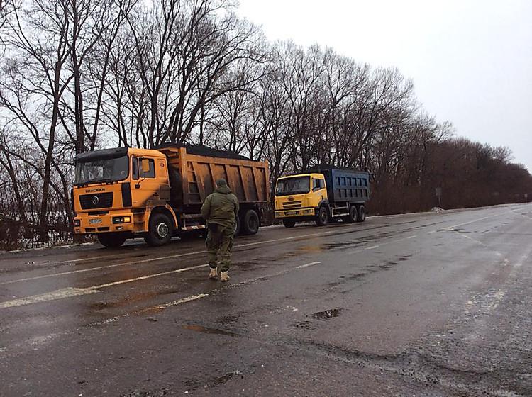 Службою безпеки України спільно з Генеральною прокуратурою в результаті спецоперації було вилучено 40 тонн незаконно видобутого вугілля.