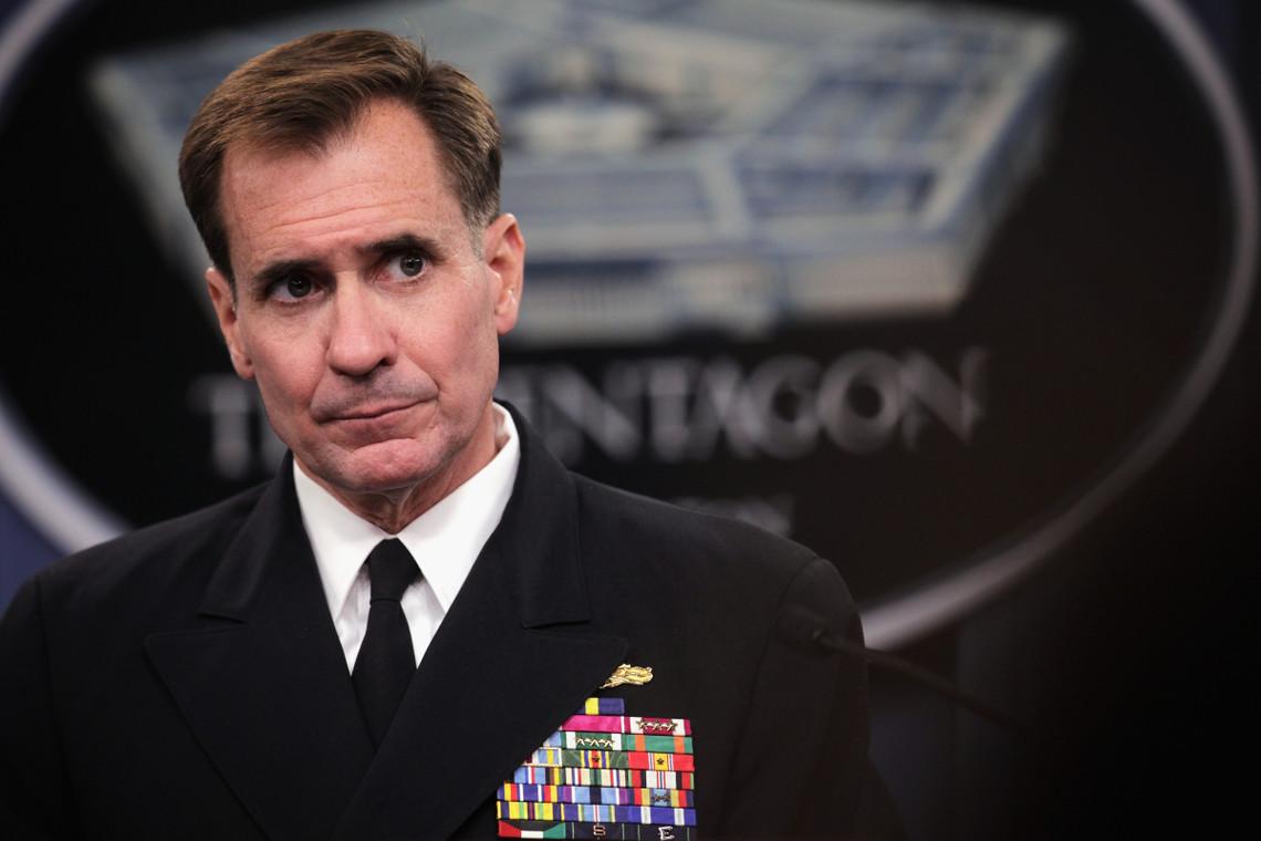 Офіційний представник Держдепартаменту США Джон Кірбі поклав на Росію і бойовиків відповідальність за загострення обстановки на Донбасі.