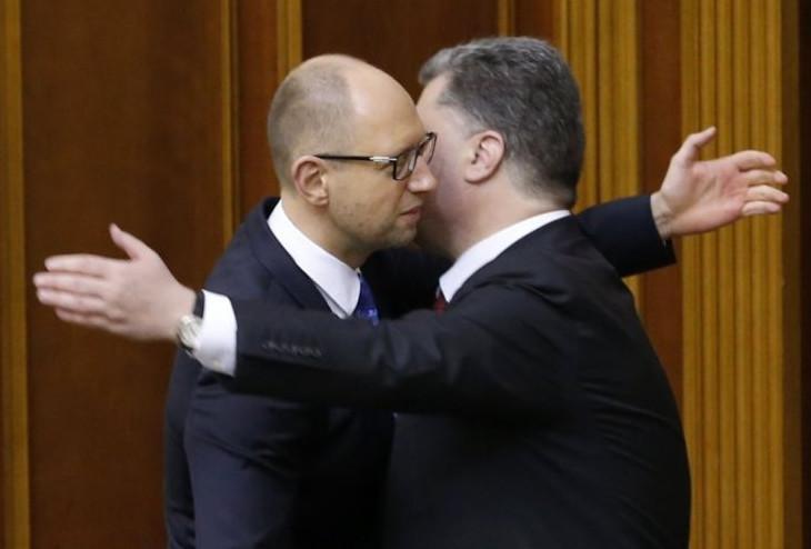 Пропрезидентська політична сила «Блок Петра Порошенка» і партія прем'єра «Народний фронт» підписали угоду про об'єднання.