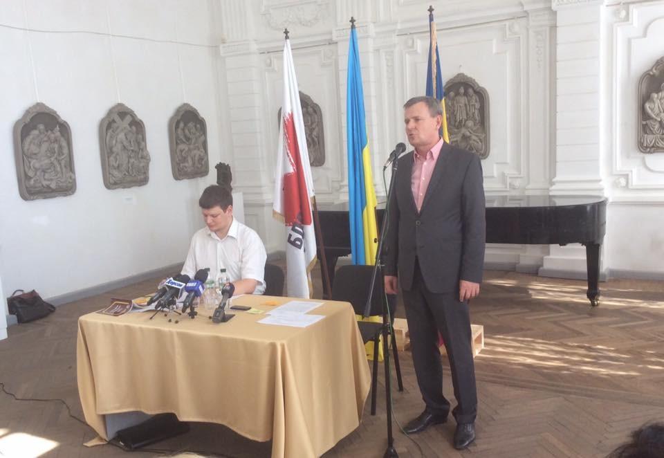 Херсонська міська партійна організація «Батьківщини» визначилася з кандидатом у мери міста. Ним став Владислав Мангер.