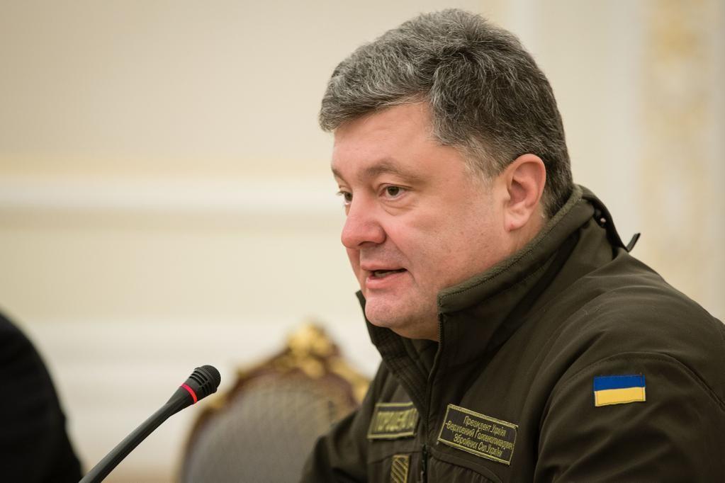 Президент України Петро Порошенко вважає, що співпраця НАТО з Україною в умовах російської агресії має стратегічне значення для глобальної безпеки.
