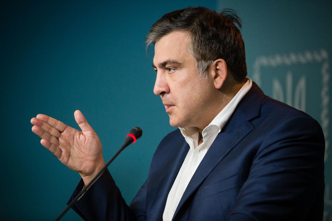 Губернатор Одеської області Міхеіл Саакашвілі вважає, що товарна блокада Криму силами громадських активістів несе певні ризики безпеці.