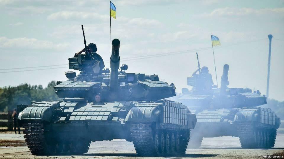 Завдяки дотриманню усіма сторонами конфлікту на Донбасі режиму припинення вогню сили АТО завершили перший етап відведення танків від лінії розмежування.