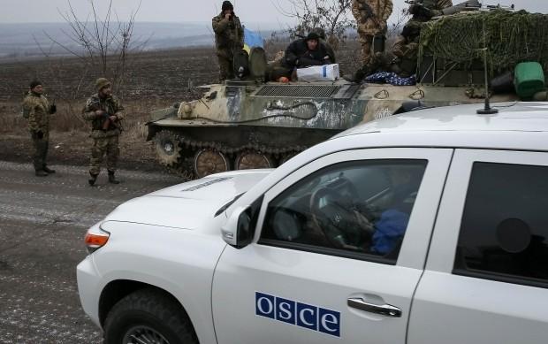 Спеціальна моніторингова місія організації з безпеки та співробітництва в Європі (ОБСЄ) завершила верифікацію відведеного озброєння калібром до 100 мм на луганському напрямку.