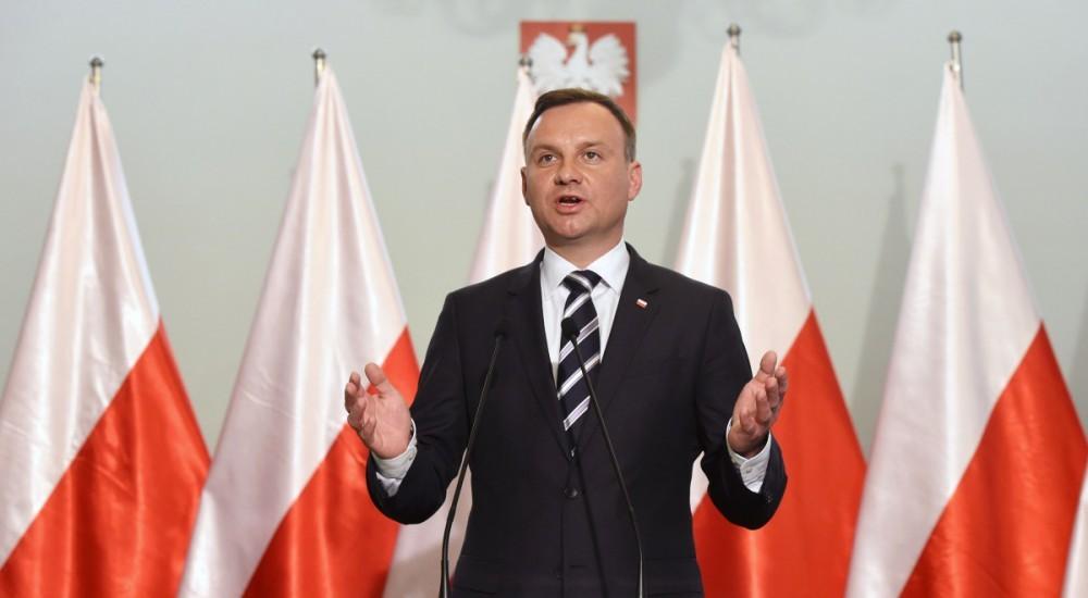 Президент Польщі Анджей Дуда наголосив на важливості того, щоб конфлікт на Донбасі не був заморожений, а Мінські домовленості були виконані у повному обсязі.