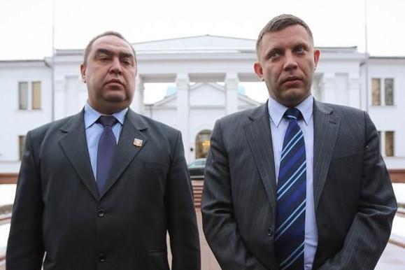 У Кремлі хочуть, щоб Захарченко та Плотницький керували окупованими територіями з території РФ.