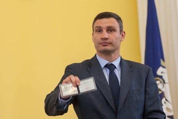 Переобраний міський голова Києва Віталій Кличко заявив, що за 1,5 року перебування на посаді очільника столиці він не отримав жодної копійки зарплати.