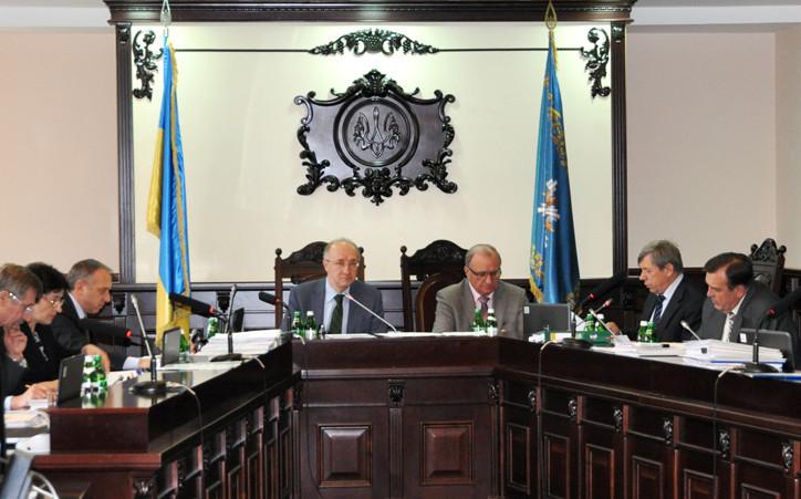 На засіданні Вищої кваліфікаційної комісії суддів України розглянуто питання про притягнення суддів до дисциплінарної відповідальності.