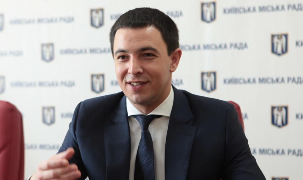 Заступником міського голови-секретарем Київської міської ради VIII скликання обраний Володимир Прокопів.