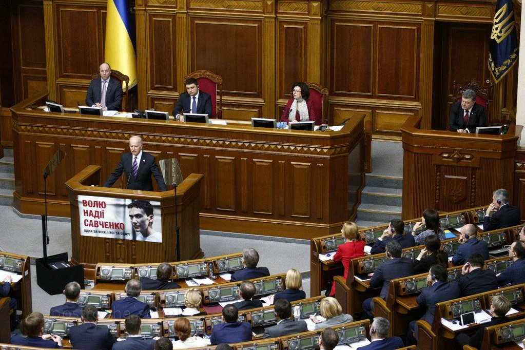 Віце-президент Сполучених Штатів Америки Джо Байден заявив, що, незважаючи на реформи, в Україні продовжує розвиватися корупція.