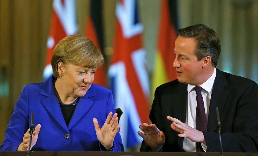 Канцлер Німеччини Ангела Меркель в ході свого візиту до Великобританії надала спецслужбам цієї країни дані про Росію та ситуацію в Україні.