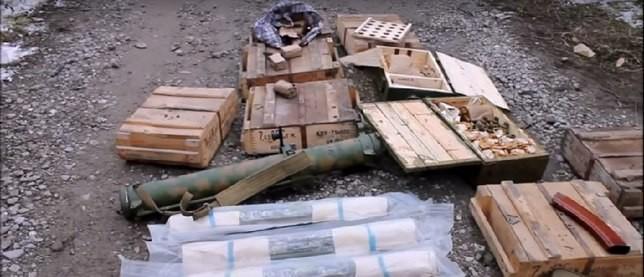 Виявлено півтора десятки протитанкових ручних гранатометів і більше 12 тисяч патронів різного калібру та типу до стрілецької зброї.