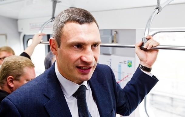 Міський голова Києва Віталій Кличко не впорався з обіцянкою оновити протягом 2015 року 30 вагонів столичного метрополітену.