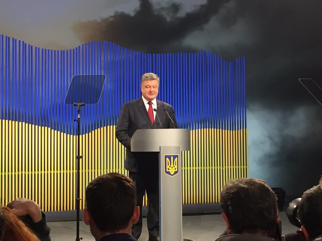 Президент України Петро Порошенко запропонував створити міжнародний механізм повернення окупованих територій.
