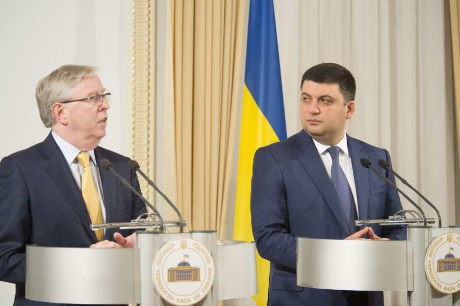 Спікер ВР і глава місії Європарламенту підвели підсумки роботи з підготовки реформи українського парламенту.