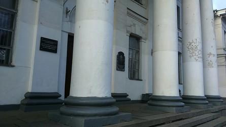 Мер Полтави Олександр Мамай не виконав свою обіцянку щодо ремонту фасаду Малої академії мистецтв.
