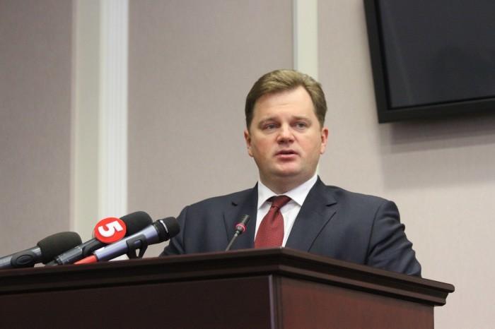 Губернатор Київщини Максим Мельничук каже, що область, за яку він відповідає, посяде перше місце завдяки його генам.