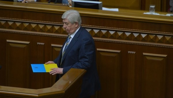 Звільнити Віктора Шокіна з посади генерального прокурора Верховна Рада зможе наступного пленарного засідання.