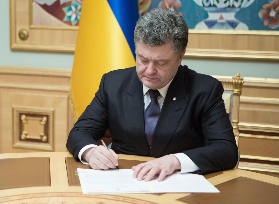 Сьогодні Порошенко підписав закон про створення в Україні представництва Північноатлантичного альянсу, який Рада ухвалила з третьої спроби.