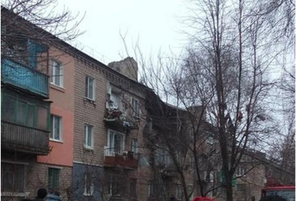 У місті Макіївка, підконтрольному терористами так званої «ДНР», стався вибух водному з багатоповерхових будинків.